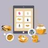 デリバリーとテイクアウト/シンプルで簡単なウェブアプリ